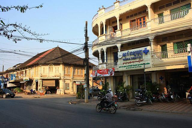 Old French Architecture Battambang