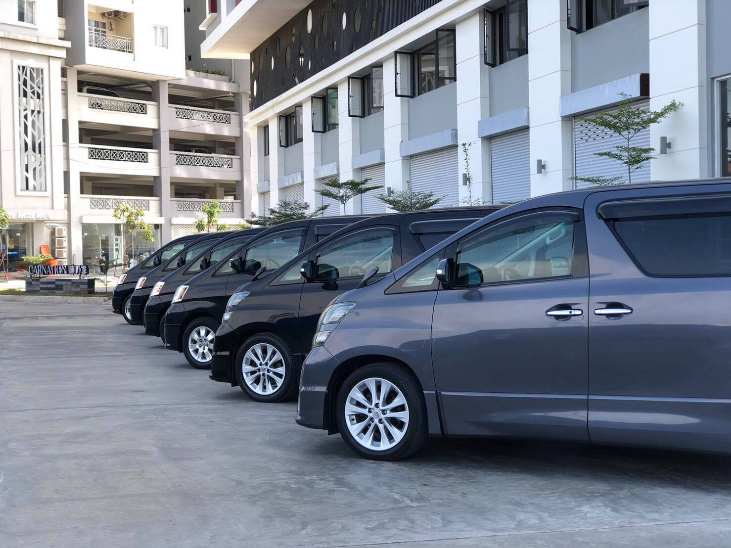 Our new fleet in Phnom Penh